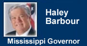 Governor Haley Barbour
