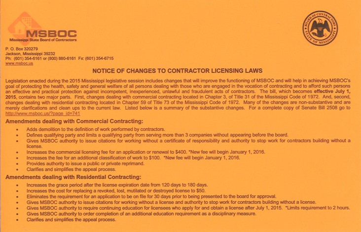 sb 2508 summary of changes flyer med small